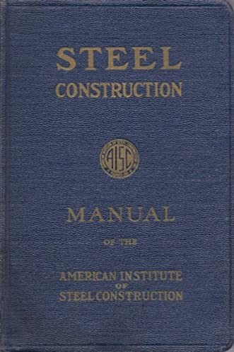 steel construction manual of the american institute of steel rh amazon com Steel Construction Manual Online NYS Steel Construction Manual