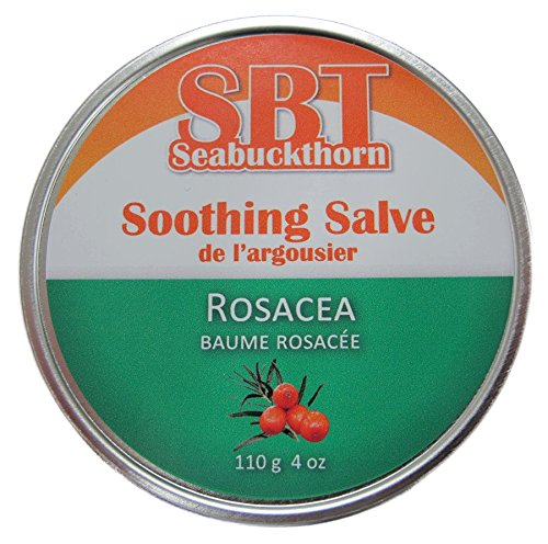 Rosacea Salve (Moisturizer) - Naturally Reduces Redness, Inflammation, Itching, & Dryness - - Buckthorn Sea Rosacea