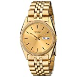 Seiko Men's SGF206 Dress Gold-Tone Watch