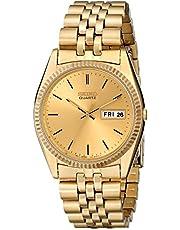Seiko Men's SGF206 Gold-Tone Stainless Steel Dress Watch