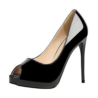 Frauen Sexy High Heel Rom Runde Peep Toe Court Schuhe Plattform Stiletto Zipper Party Hochzeit Sandalen Schuhe