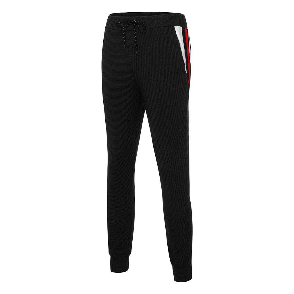 Xmiral Felpa Top Pants Set Uomo Gradiente Uomo Cerniera Stampa Sport Tracksuit