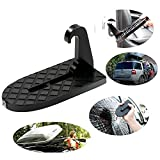 Leegoal Car Doorstep Vehicle Easy Access to Car Rooftop Vehicle Hooked On-on U Shaped Slam Latch Doorstep As Escape Hammer for Jeep Car SUV