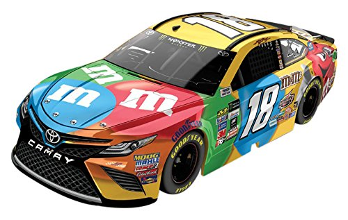 Lionel Racing Kyle Busch #18 M&M's 2017 Toyota Camry 1:64th Scale HT Official Diecast of the Monster Energy NASCAR Cup Series
