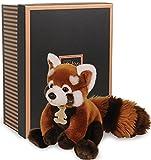 Doudou et Compagnie Les Authentiques Collection Prestige - Panda Rouge