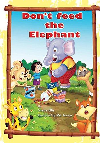 Don't Feed the Elephant! - Elephant Tale Cotton
