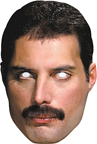 Official QUEEN Mask- Freddie (Freddie Mercury Costume)