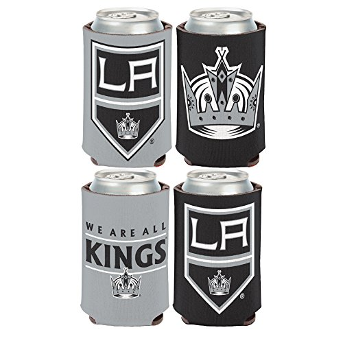 WinCraft NHL Los Angeles LA Kings 2 PACK 12 oz. 2-Sided Can ()