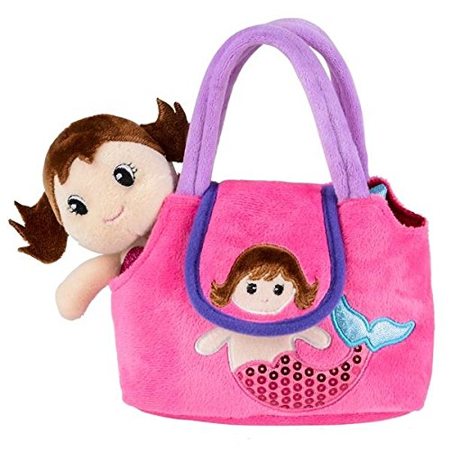 - Neliblu My First Doll Purse - Pretend Play Mermaid Adventure Playset for Little Girls - with Handbag and Mermaid Doll