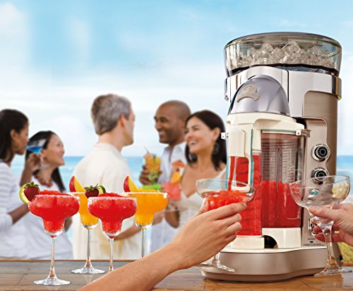 Margaritaville Bali Frozen Concoction Maker with Self-Dispensing Lever and Auto Remix Channel,...