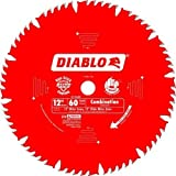 Freud D1260X Diablo 12-inch 60T Combination Miter Saw Blade with 1-inch Arbor