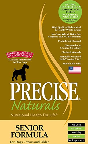 Precise 726031 Canine Senior Dry Food for Pets, 30-Pound