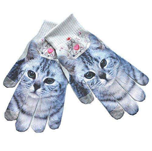 3D Cat Gloves