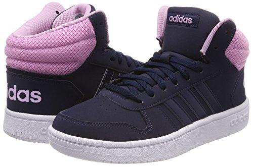 2 Hoops Mid Ftwbla De Femme 000 Adidas Chaussures Fitness Maruni 0 maruni Bleu HqSwCfUx5t