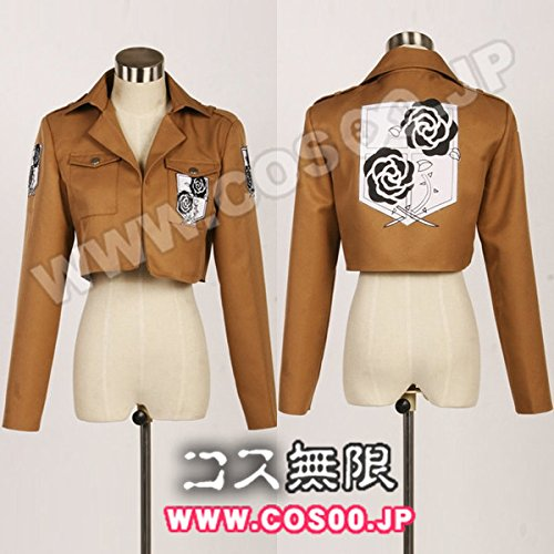 [cospay]進撃の巨人風駐屯兵団の制服風コスプレ衣装