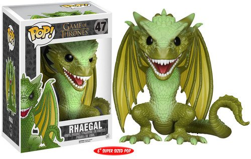 POP! Vinilo - Game of Thrones 6 Rhaegal