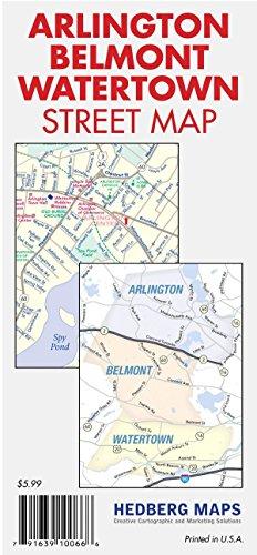 Arlington, Belmont, Watertown, (MA) Street (Ma Street Map)