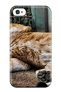 DuWvvHb2879TbUxf Lion On The Back Awesome High Quality Iphone 4/4s Case Skin by icecream design