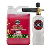 Chemical Guys EQP345 TORQ Professional Foam Cannon & Watermelon Snow Foam Auto Wash (128 fl oz.), 1 gallon, 1 Pack