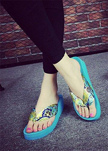 pengweiSe?oras Sandalias de verano con zapatillas de espinilla espesando suelas Zapatillas de playa Zapatillas 1