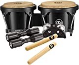 Meinl Percussion BPP-1 Bongo and Percussion Pack for Jam Sessions or Acoustic Sets