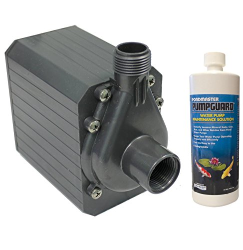 - PONDMASTER Supreme PM-9.5 Mag Drive 950 GPH Pond Water Pump w/ Solution | 02720