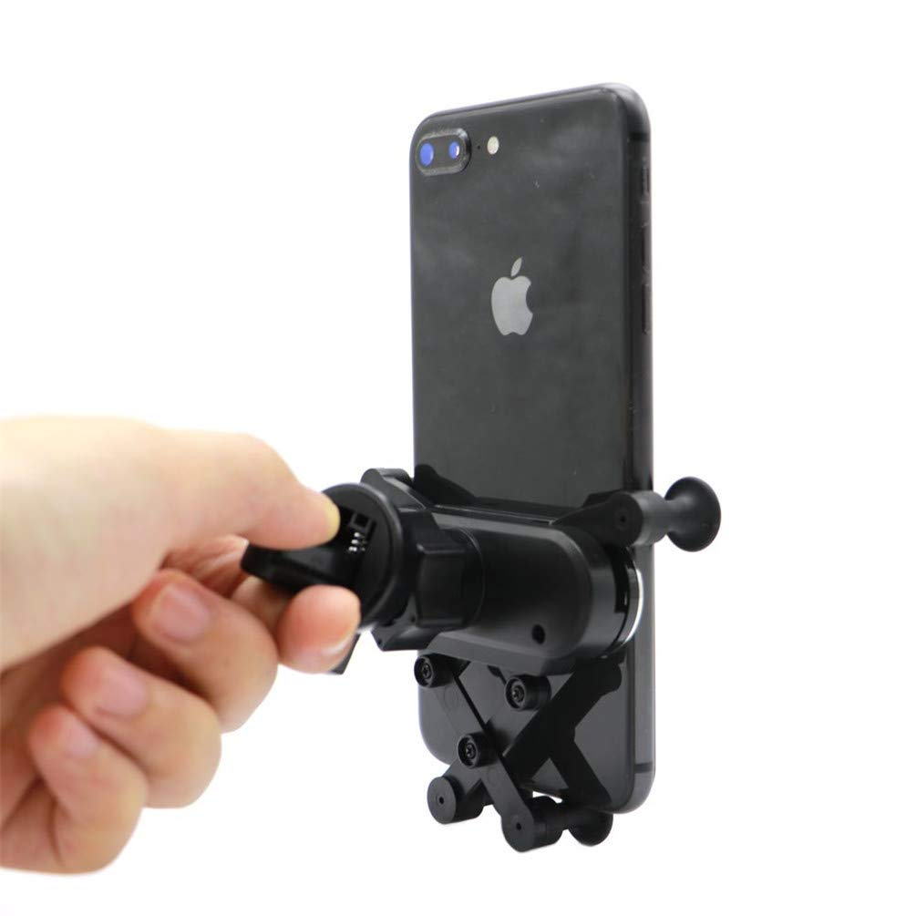Universal Vehicle Cell Phone Holder PCTC Cell Phone Car Mounts Holder Car Air Vent Mount Holer for Compatible iPhone XS//Max//XR//X//8//7 Plus Galaxy S10//S9 Plus//Note 9 LG etc Phone Holder Cradle
