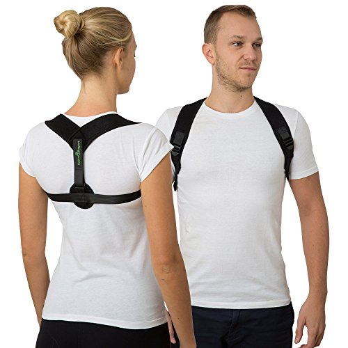 Posture Corrector for Men and Women – Effective Upper Back Support and...