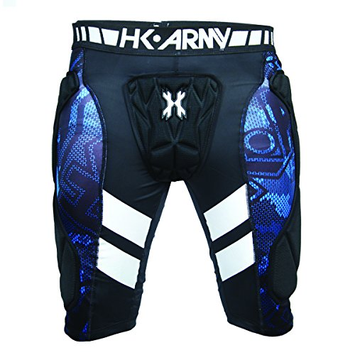 HK Army Crash Slide Shorts, Black, Small/Medium (Best Paintball Slide Shorts)
