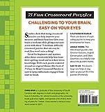 75 Easy-to-Read Crossword Puzzles: Medium-Level