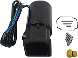 NEWZQ Tilt Trim Motor with Reservoir 809885A1 809885A2 for Mer-cury Mar-iner Fo-rce, Mer-cury/Mariner Outboards(Single Ram) Late Model 50-150HP, Fo-rce Outboards(Double Ram) 50-125HP