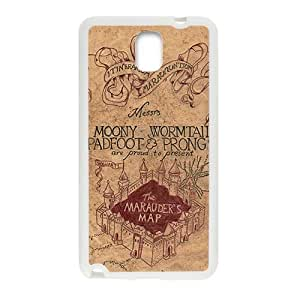 Harry Potter map Phone Case for Samsung Galaxy Note3 Case