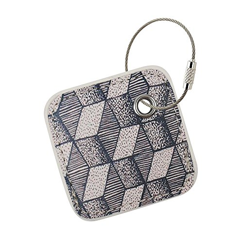 (for Tile Mate Finder with Keychain Stylish and Protected from Scratch Wet Dirty (Tile Finder Not Included) (Geometry) )