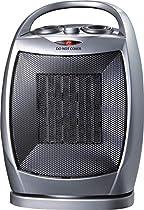 Homebasix Ptc06l Oscillating Fan Heater with Thermostat, 750/1500w