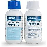 Aquamira - Chlorine Dioxide Water Treatment Two Part Liquid - 2 oz Bottles For Larger Storage Treatment