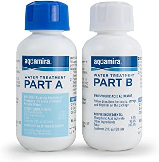 product image for Aquamira - Chlorine Dioxide Water Treatment Two Part Liquid - 2 oz Bottles For Larger Storage Treatment