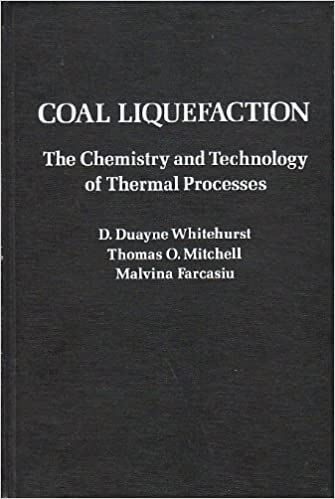 Coal Liquefaction: The Chemistry and Technology of Thermal Processes