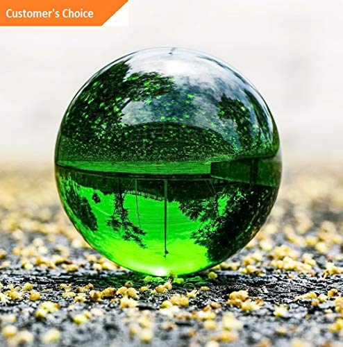 - Hebel 9 Colors Crystal Ball 60mm Photo Photography Glass Prop Paperweight Decor Gift | Model DCRTVBLL - 45 |