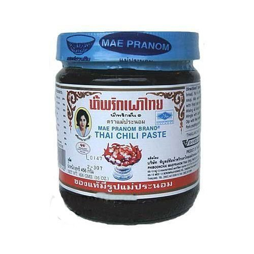 Mae Pranom Thai Chili Paste - 8 oz x 2 jars