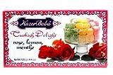 Hazer Baba Turkish Delight Rose,Lemon,Menthe125g(4.4oz)