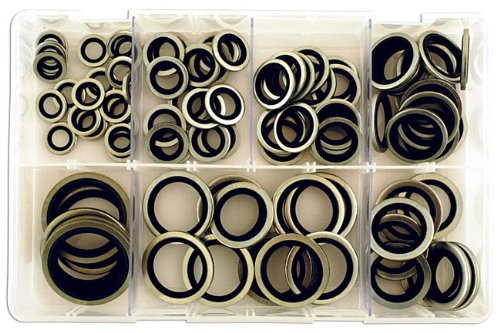 Connect 31874 Assorted Bonded Seal Washers Imp Dowty