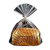 Alien Storehouse 100pcs Plastic Bread Bag Food Packaging Storage Bakery Toast Bag - 10