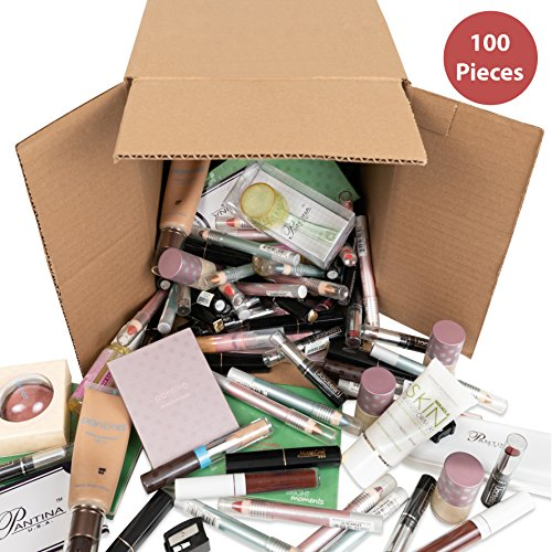 100-Piece Wholesale Bulk Makeup Assorted Cosmetics Box, Kit, Lot, Set, Kids, Girls, Women, Party Favors, Cheap, Gift, (Makeup Bulk Wholesale)