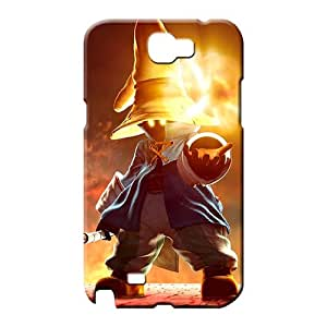 samsung note 2 case Scratch-proof Perfect Design phone case skin final fantasy ix