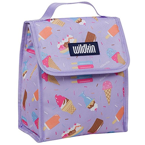 Lunch Bag, Olive Kids by Wildkin Lunch Bag, Insulated, Moisture Resistant, Easy to Clean and Folds Flat Making Storage That Much Easier, Ages 3+, Perfect for Kids or On-The-Go Parents – Sweet Dreams - Sweet Dreams Girl