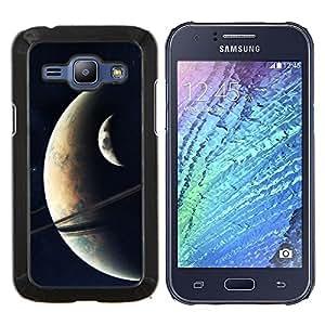 TECHCASE---Cubierta de la caja de protección para la piel dura ** Samsung Galaxy J1 J100 ** --Espacio Planet Galaxy Estrellas 19