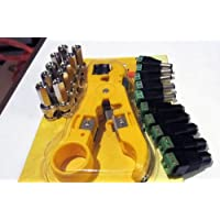 Siamese Cable Kit (10x BNC Twist-on, 5x DC Male Power connector, 5x DC Female Power Connector and 1x Cable Stripper)
