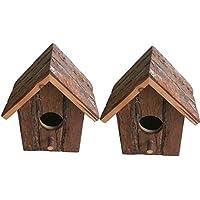 Heritage Madera Rústica 20832de casa de pájaros