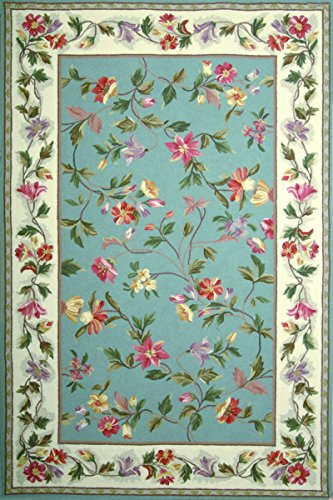 KAS Oriental Rugs Colonial Collection Floral Area Rug, 20