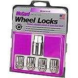 McGard 24157 Chrome Cone Seat Wheel Locks (M12 x 1.5 Thread Size) - Set of 4